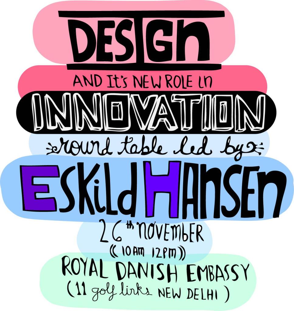 DesignRoundTable with Eskild Hansen in New Delhi