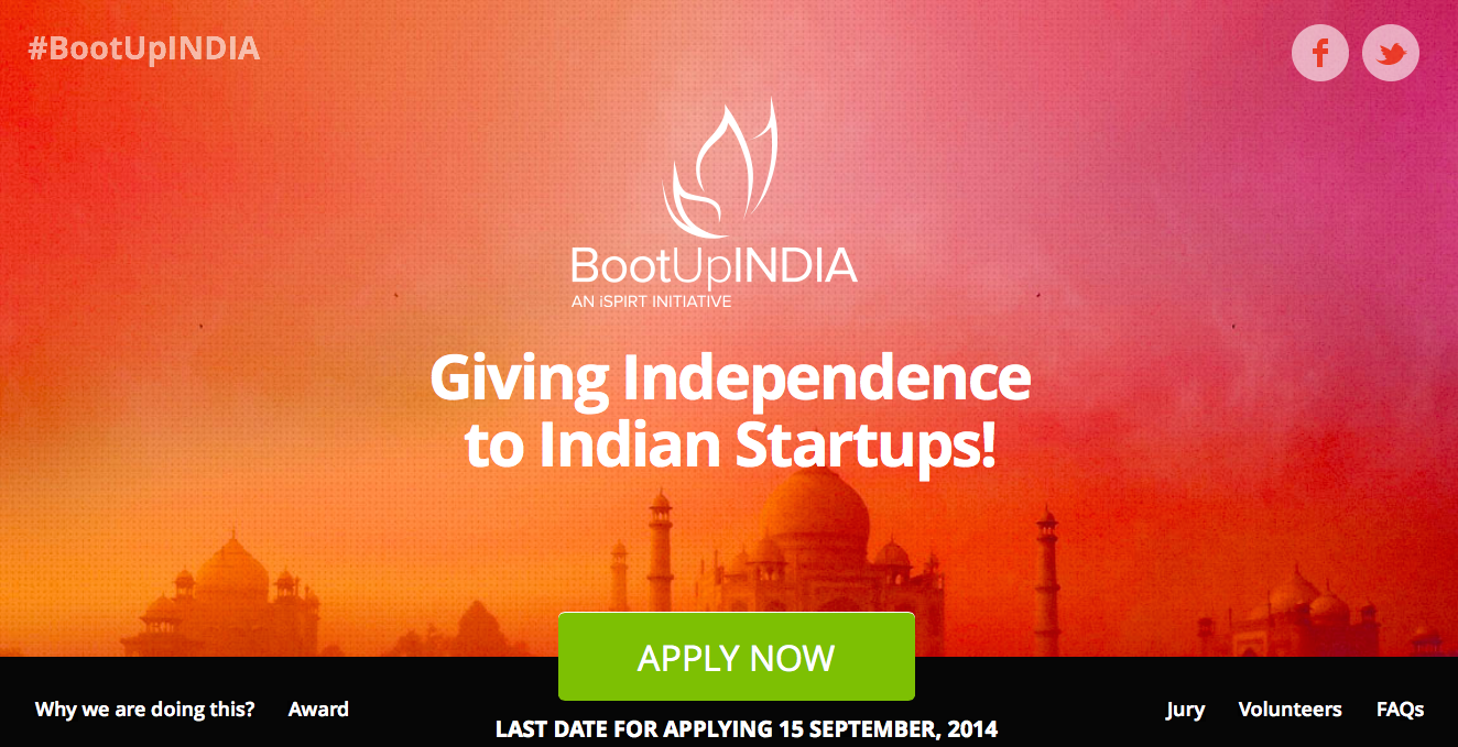 BootUPIndia-home