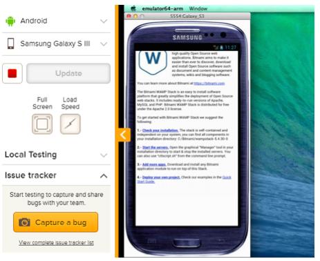 BrowserStack-Mobile
