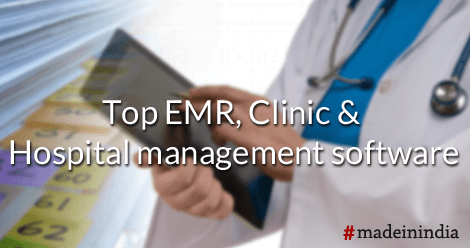 EMR,Clinic & Hospital Management Software #madeinindia