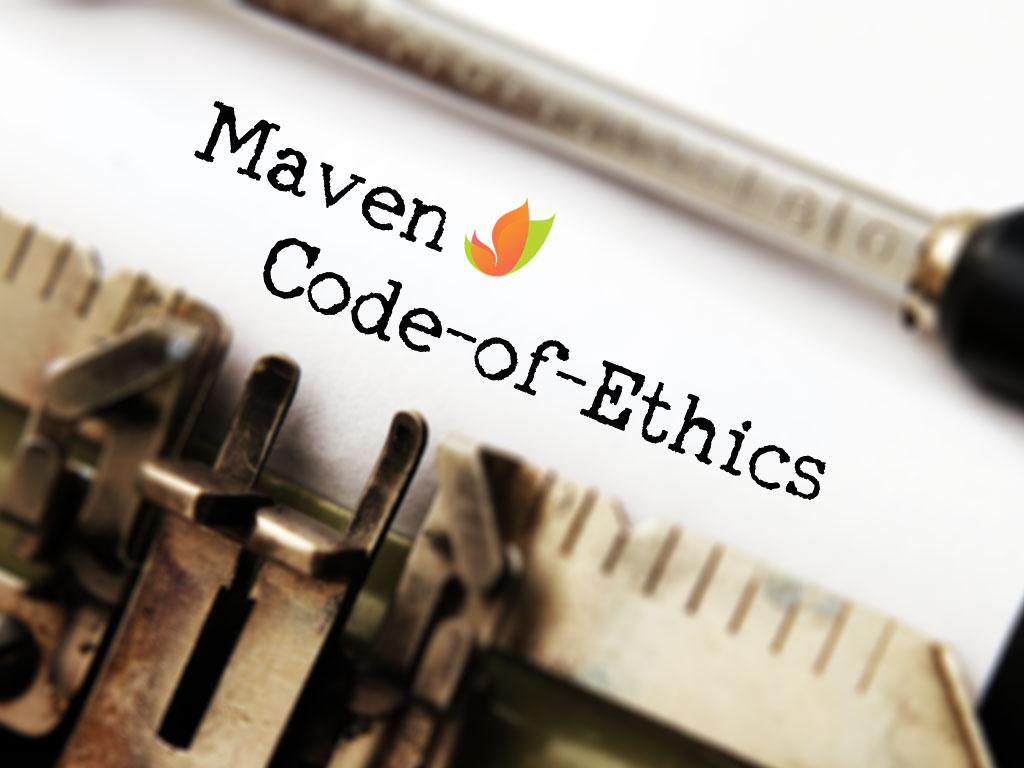 maven-code-of-ethics