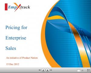 Pricing for Enterprise Sales