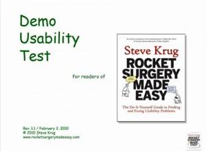 Demo Usability Test