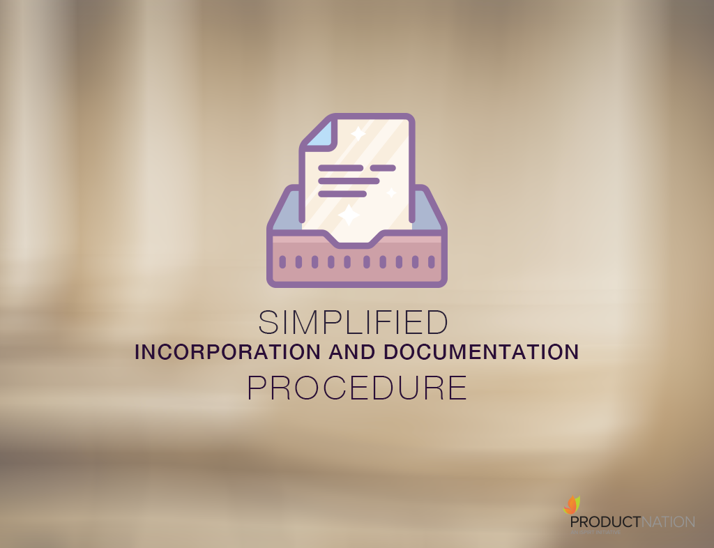 Simplified Incorporation And Documentation Procedure