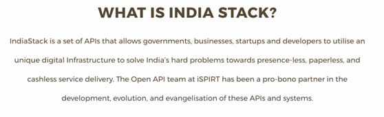 What is IndiaStack